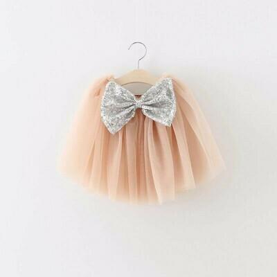 Tutu Bow Skirt | Champagne