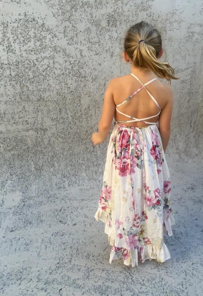 Florence Hi Low Dress | Rose