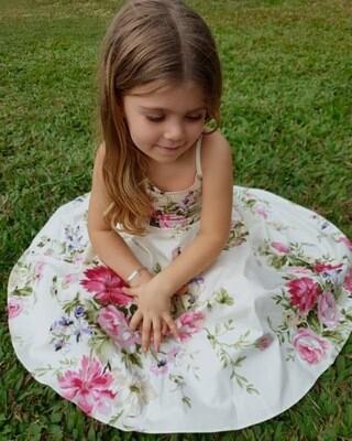 Briar Cream Floral Dress