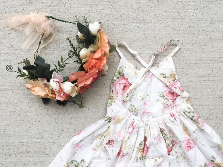 Charlotte Dress   Spring Pastels