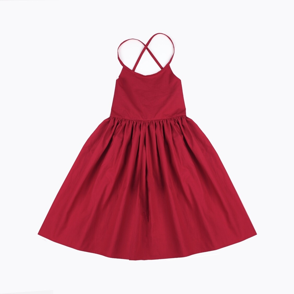 RUBY Florence Girls Christmas Dress | Rich Red