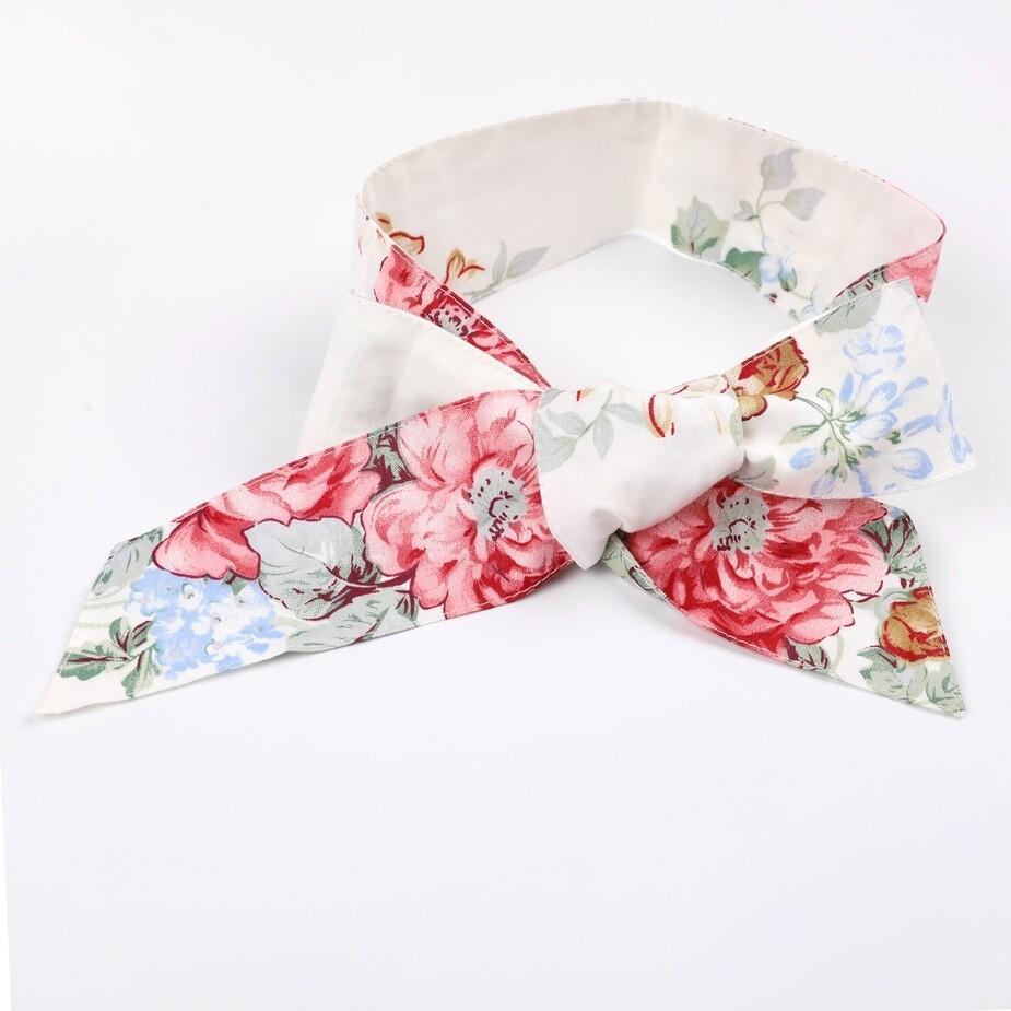 RUBY Floral Christmas Head Wrap