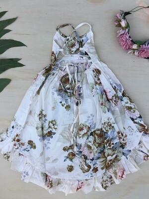 Florence Hi Low Dress | Heather