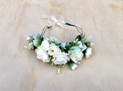 Bianca Rose Flower Crown