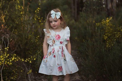 RUBY Girls Christmas Dress | Floral