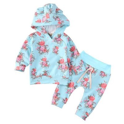 Blue Rose 2 Pc Set