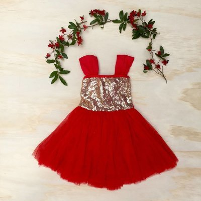 Red Angel Dress