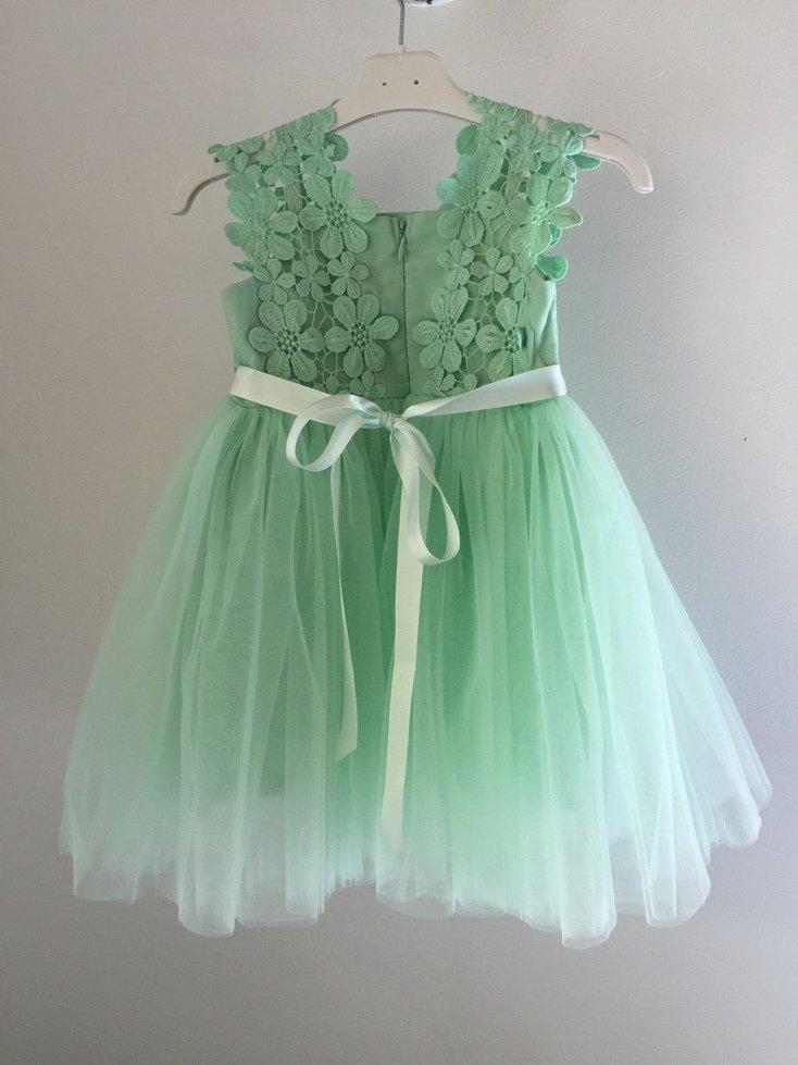 Layla Tutu Dress | Spearmint
