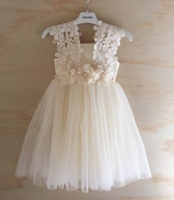 Layla Tutu Dress | Cream