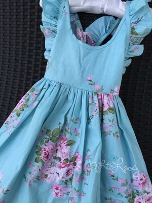 Arielle Dress | Blue | Size 1 Only