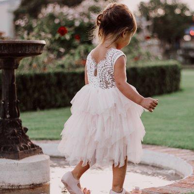 Aurora Grace Dress | Peach