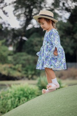 Alyssa Floral Dress | BLUE