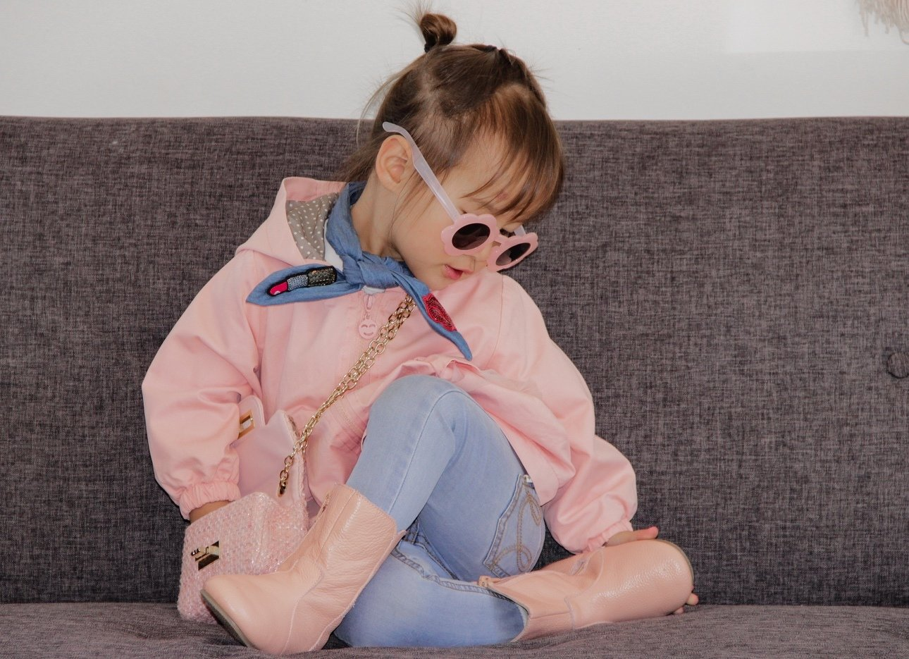 Penelope Coat | Dusky Pink