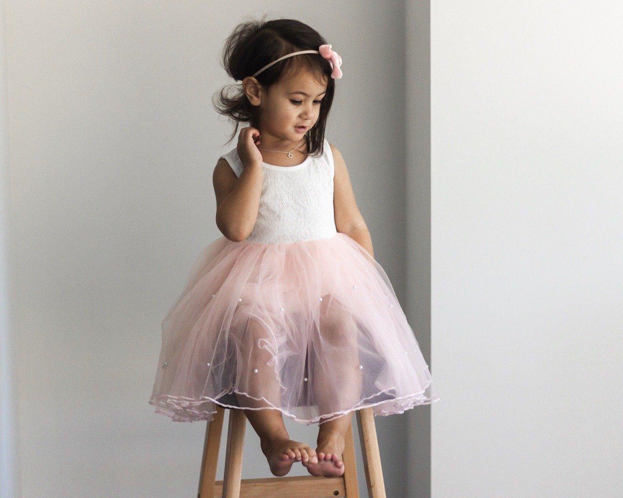Tutti Frutti Dress | Blush