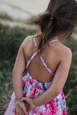 Charlotte Dress | Summer Blooms | Size 1 Only