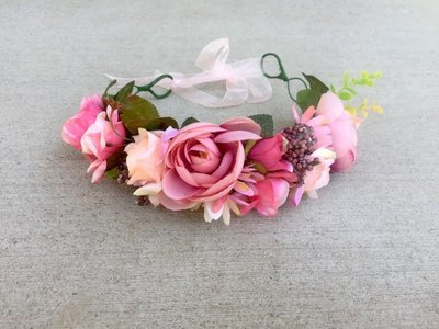 Woodland Fairy Flower Crown