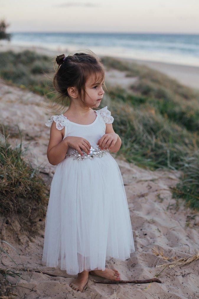 Enchanted Angel Tutu Dress   White
