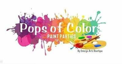 Pops Of Color Party - PREPAY