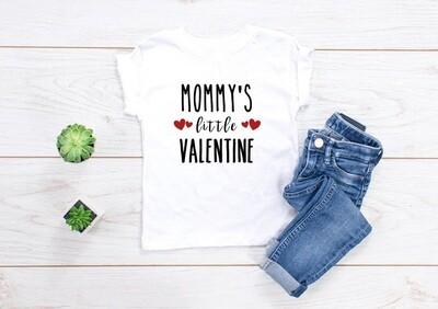 Mommys Little Valentine Tee