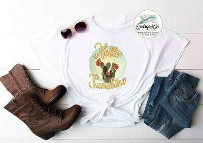 Hello Sunshine Prickly Pear Tee