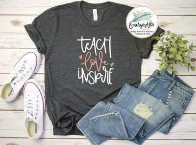 Teach Love Inspire Tee
