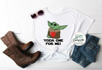 Yoda One For Me Tee