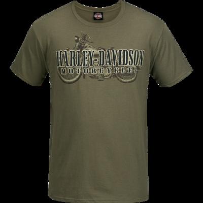 War Name with Appleton H-D logo on back.