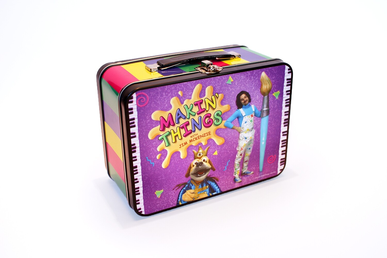 Jim McKenzie 'Makin' Things' Lunchbox