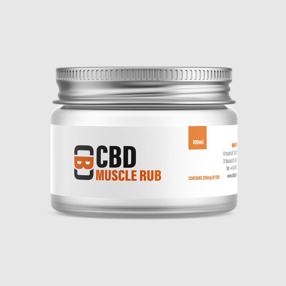 CBD Muscle Rub, 200mg