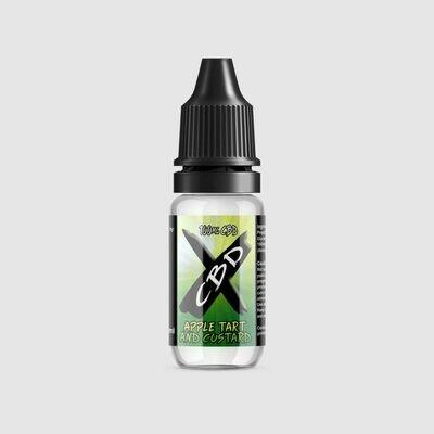 CBD X E-Liquid Custard 100mg