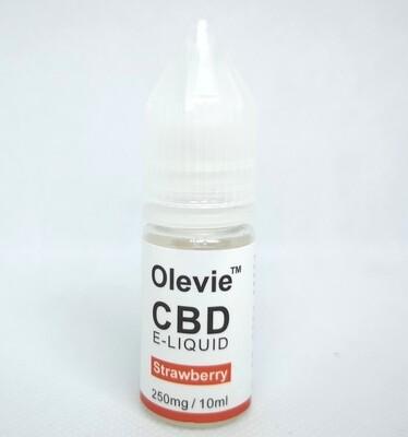 CBD Vape 250mg 10ml Isolate Strawberry Aid