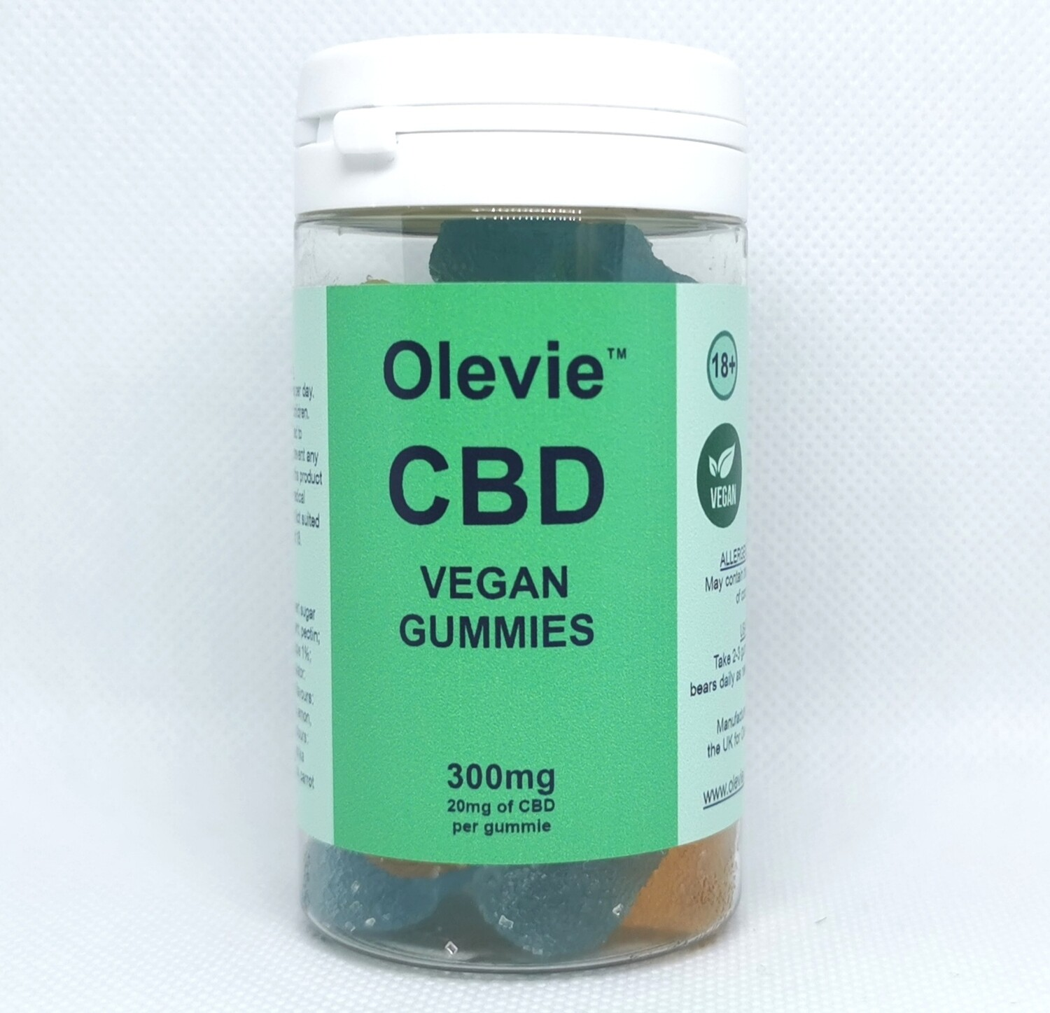 CBD Gummies Vegan 10mg (30 pack)