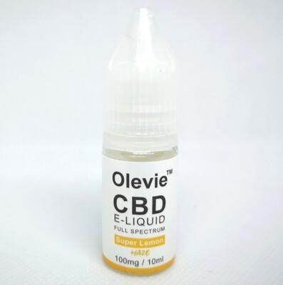 CBD Vape 100mg 10ml Full Spectrum Super Lemon Haze