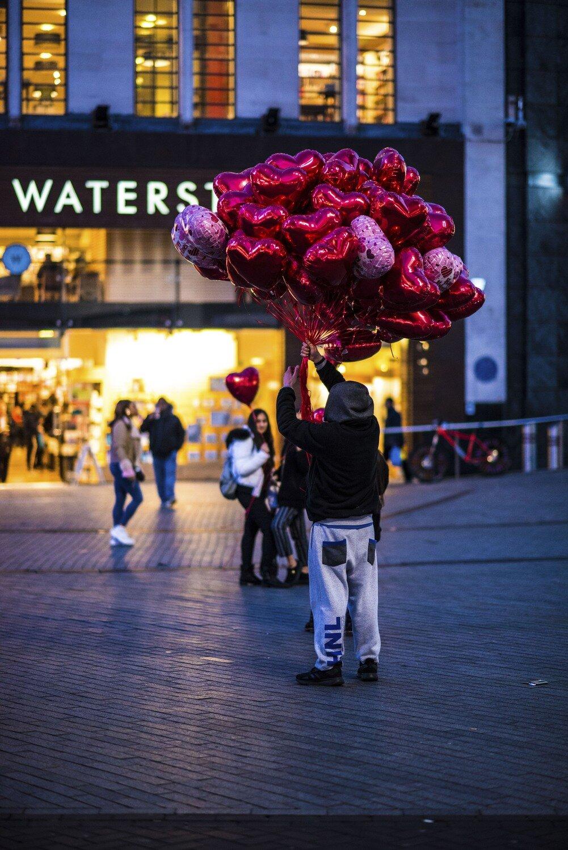 Valentinstag in Birmingham