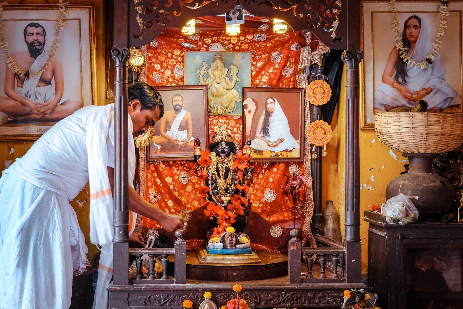 The Kali temple