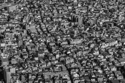Häuser-Chaos-Tokyo