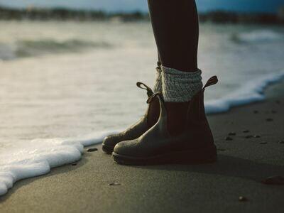 Ladies Wool Blend Boot Socks