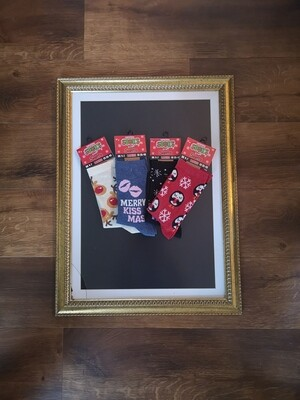 Ladies Christmas Socks