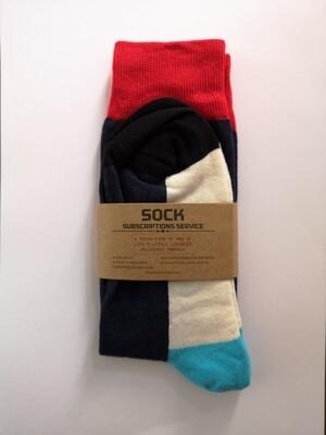 Luxury Cotton Socks - Colours