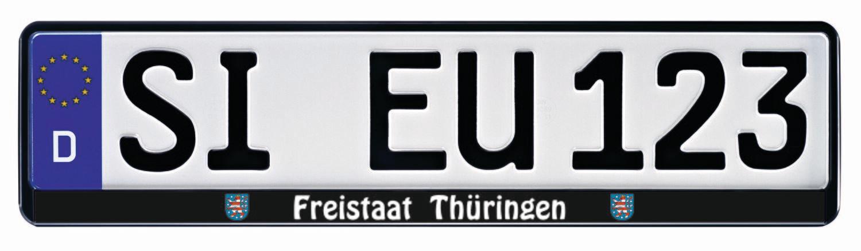 Kennzeichenhalter ERUSTAR