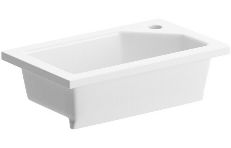 430x260mm Compact Inset Basin Only