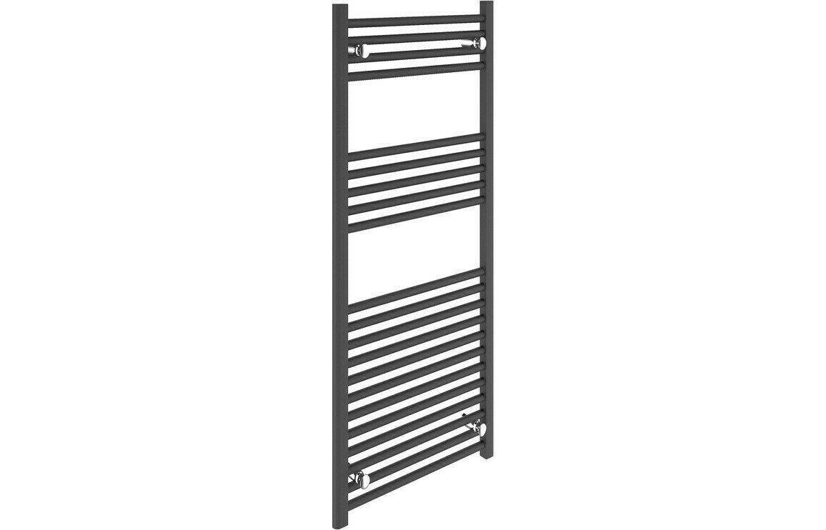 22mm Straight Towel Warmer 500x1200mm - Anthracite