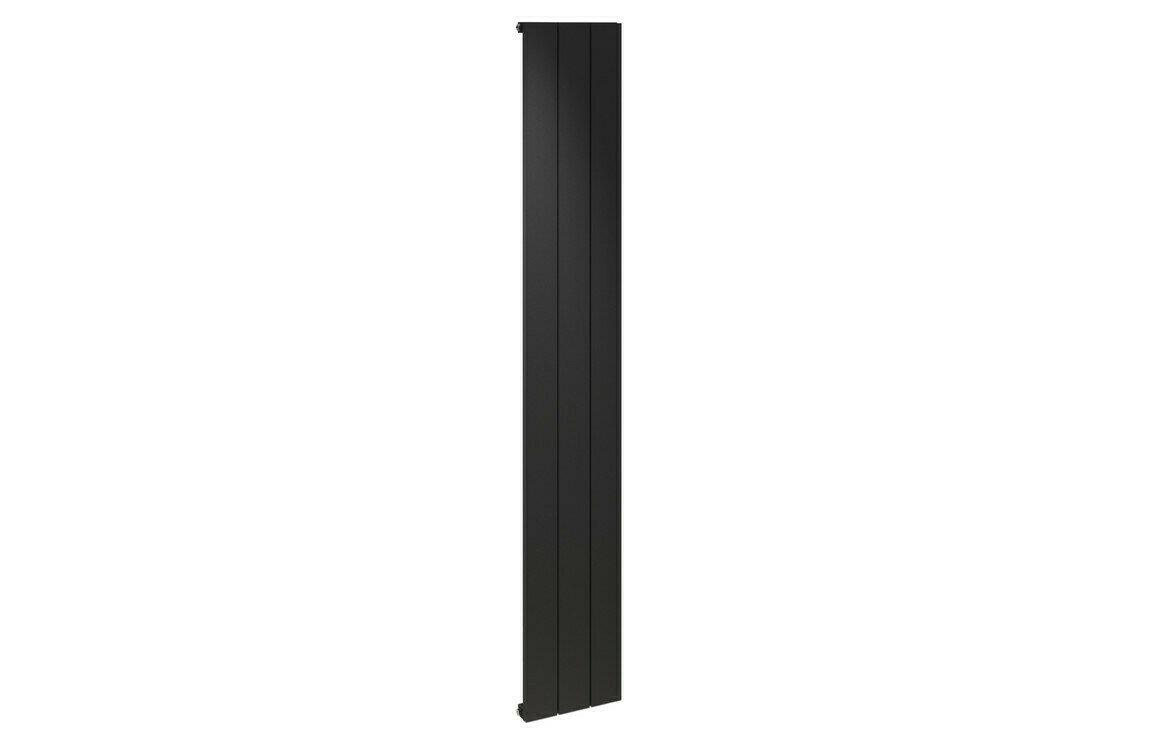 ALULITE 1800X280MM FLAT RADIATOR - BLACK