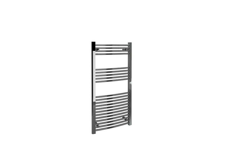 22mm Curved Towel Warmer 600x1200mm - Chrome