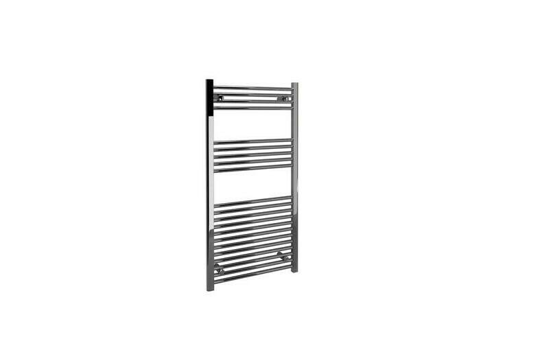 22mm Straight Towel Warmer 500x750mm - Chrome