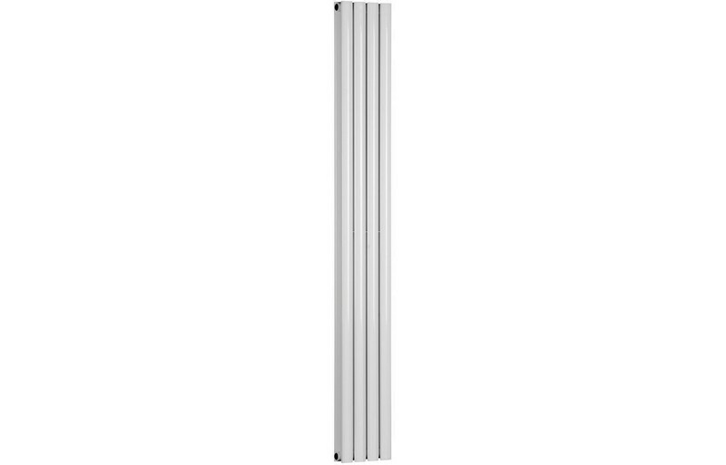 Cylindra 1800x236mm Designer Radiator - White