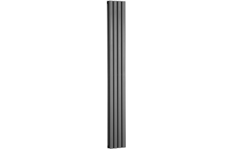 Cylindra 1800x236mm Designer Radiator - Anthracite