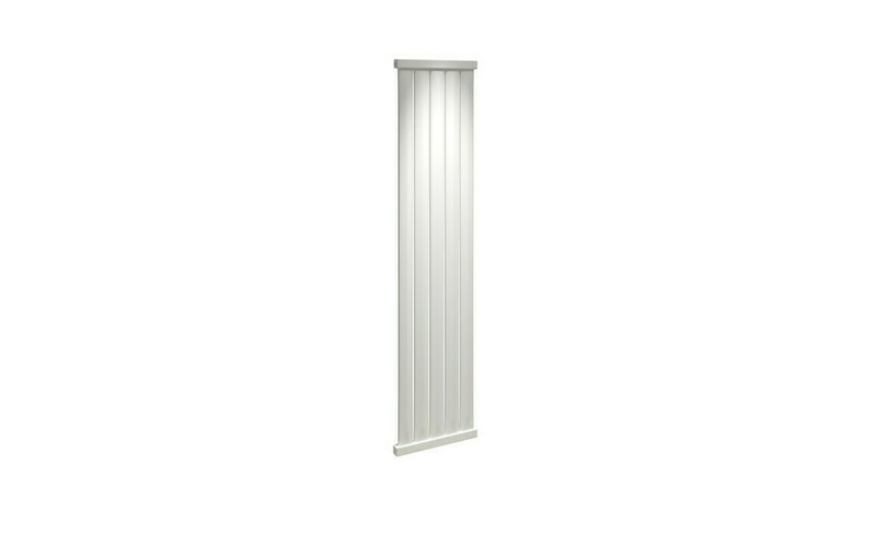 Elmas 1800x410mm Radiator - White
