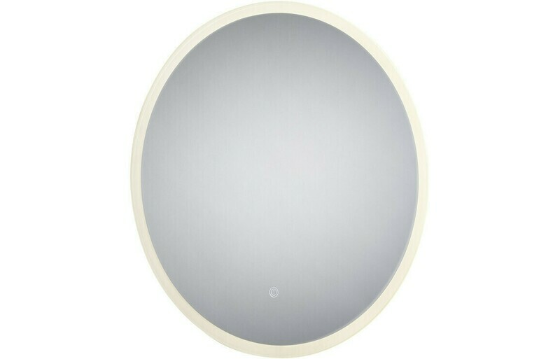 Enza 600mm Round Backlit LED Mirror