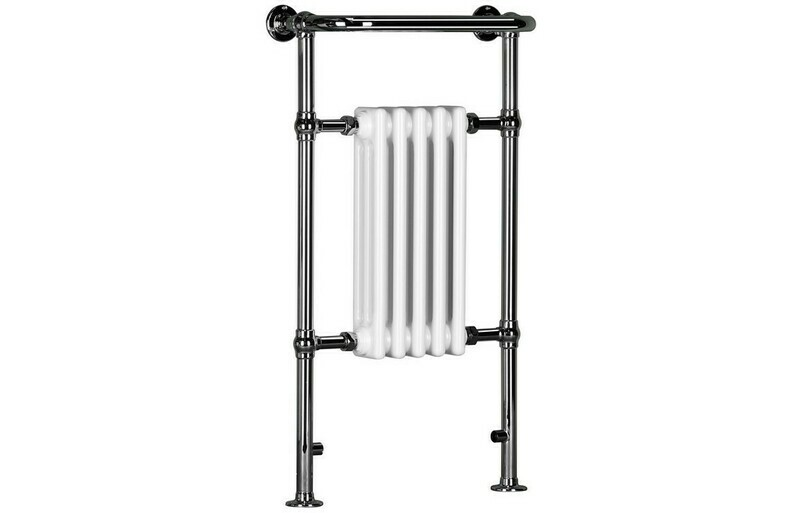 Eterno 538x963mm Slim Traditional Radiator - White